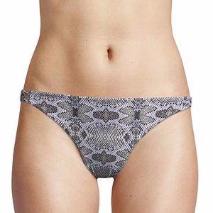 4/$25 Rachel Roy Animal Print Bikini Bottom Small